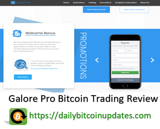 Galore pro daily Bitcoin updates review