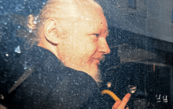 POD Assange and his man bun get the boot