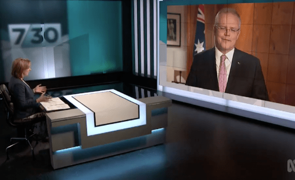 Leigh Sales want ScoMo to lie to you
