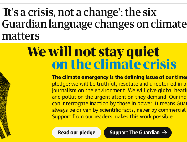 The Guardian pledges to be biased