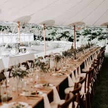 wedding venues in New Hampshire's - The Gardens at Uncanoonuc 1