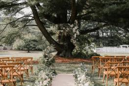 wedding venues in New Hampshire's - The Gardens at Uncanoonuc 4
