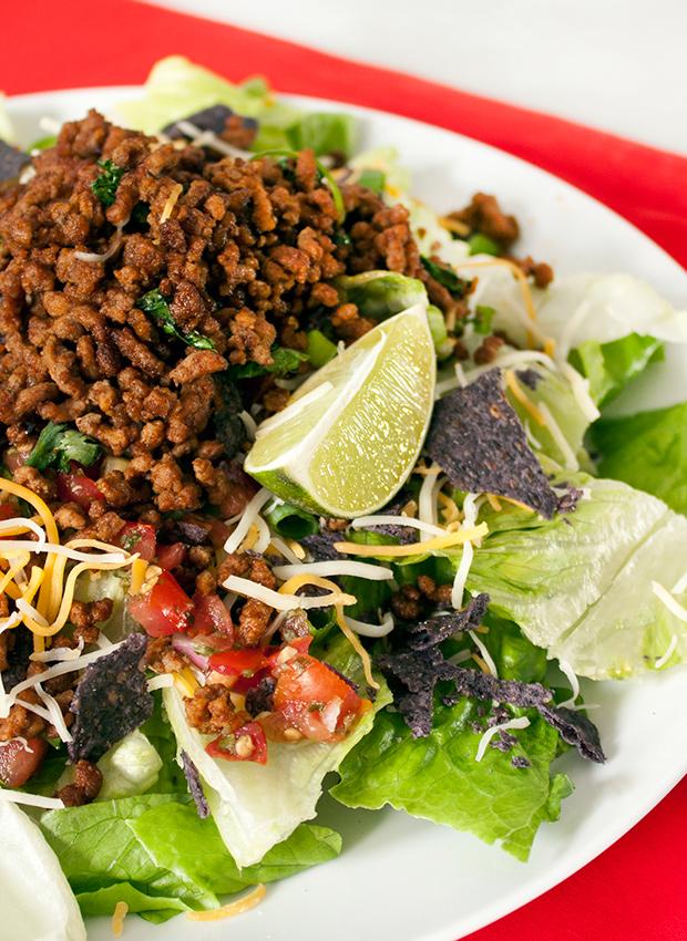 Taco Salad - Ground Turkey Recipes