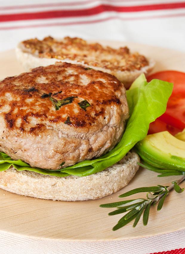 Healthy Ground Turkey Burger Recipe