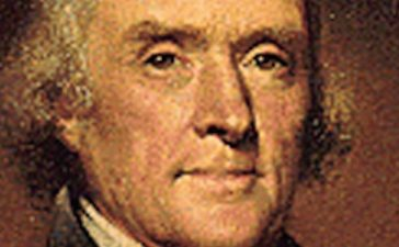 A portrait of President Thomas Jefferson, who served from 1801-1809. A portrait of President Thomas Jefferson, who served from 1801-1809
