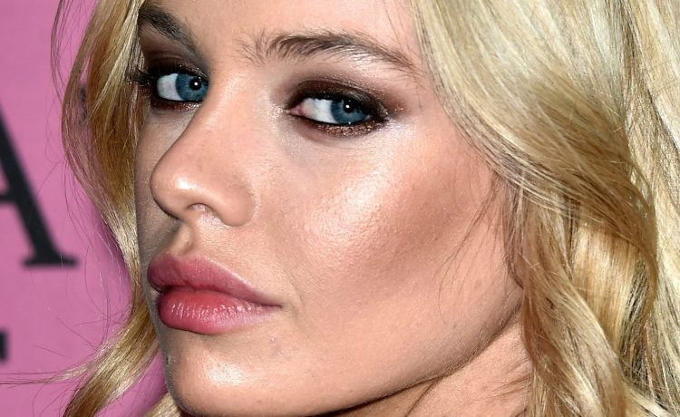 Model Stella Maxwell attends the after party for the annual Victoria's Secret fashion show at Earls Court on December 2, 2014 in London. (Photo by Pascal Le Segretain/Getty Images)