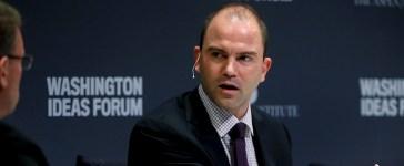 Deputy U.S. National Security Advisor Rhodes participates in the Washington Ideas Forum in Washington