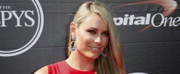 Professional skiier Lindsey Vonn arrives for the 2015 ESPY Awards in Los Angeles