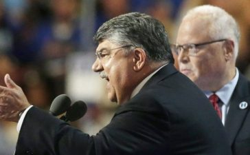 AFL-CIO President Richard Trumka speaks at the Democratic National Convention (REUTERS/Gary Cameron)
