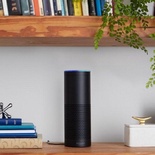 The Amazon Echo costs $180 (Photo via Amazon)
