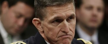 """Defense Intelligence Agency director U.S. Army Lt. General Michael Flynn testifies before the House Intelligence Committee on """"Worldwide Threats"""" in Washington February 4, 2014. REUTERS/Gary Cameron."""