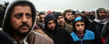 Syrian refugees (Getty Images)