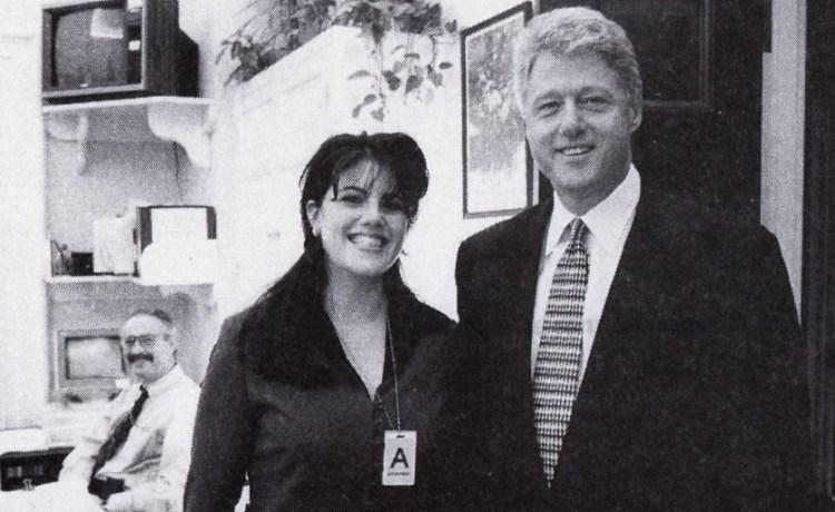 Bill Clinton and Monica Lewinsky Reuters