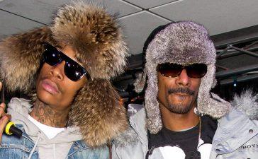Snoop Dogg and Wiz Khalifa (Photo credit: Splash News)