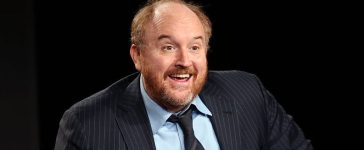 Creator/writer/actor Louis C.K. speaks onstage during the 'Louie' panel discussion at the FX Networks portion of the Television Critics Association press tour at Langham Hotel on January 18, 2015 in Pasadena, California
