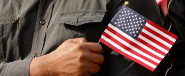 Veterans day ceremony at Arlington National Cemetery in Virginia
