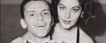 Frank Sinatra in an undated and unlocated picture (probably in 1951) with his bride actress Ava Gardner. (Photo credit: AFP/AFP/Getty Images)