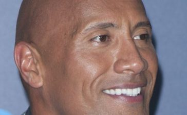 "Actor Dwayne Johnson attends the Disney Premiere ""Moana"" in Hollywood, California, on November 14, 2016. (LILLY LAWRENCE/AFP/Getty Images)"