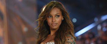Jasmine Tookes walks the runway during the 2016 Victoria's Secret Fashion Show on November 30, 2016 in Paris, France. (Photo by Dimitrios Kambouris/Getty Images for Victoria's Secret)