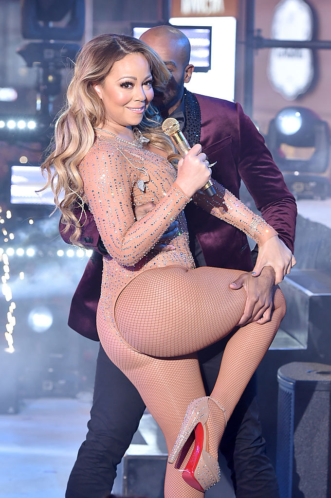 Mariah Carey performs onstage during New Year's Eve 2017 in Times Square at Times Square on December 31, 2016 in New York City. (Photo by Theo Wargo/Getty Images)