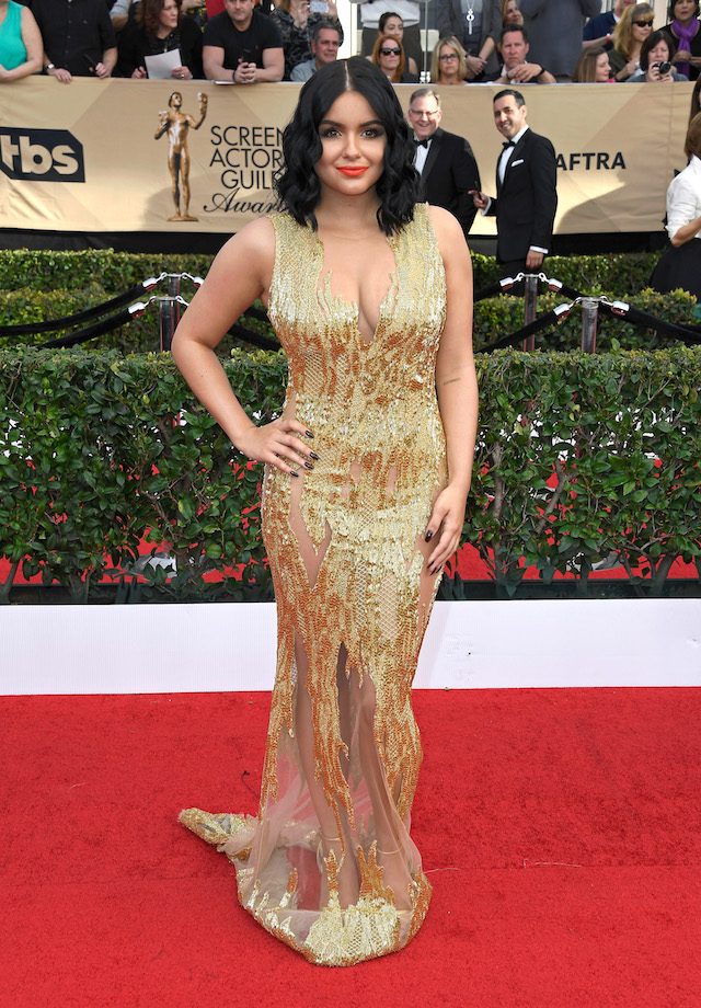 LOS ANGELES, CA - JANUARY 29: Actor Ariel Winter attends The 23rd Annual Screen Actors Guild Awards at The Shrine Auditorium on January 29, 2017 in Los Angeles, California. 26592_008 (Photo by Frazer Harrison/Getty Images)