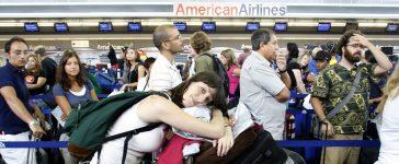 John F. Kennedy International Airport: Joshua Lott/Reuters