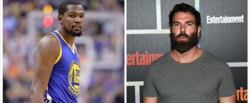 Kevin Durant, Dan Bilzerian (Credit: Getty Images)