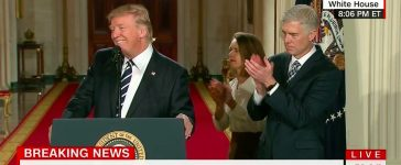 Donald Trump, Neil Gorsuch (Getty Images)