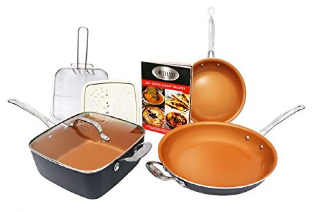 Normally $200, this #1 cookware set is 60 percent off today (Photo via Amazon)
