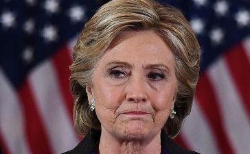 TOPSHOT-US-VOTE-CLINTON