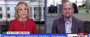 Andrea Mitchell, Glenn Thrush (MSNBC)
