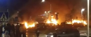 Riots in Sweden (YouTube)