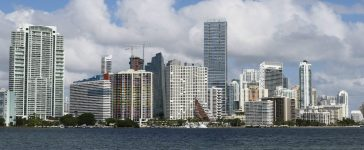 The downtown skyline of Miami, Florida November 5, 2015: Reuters/Joe Skipper