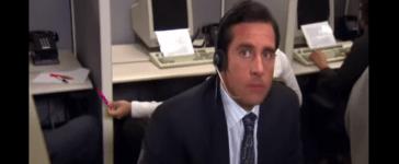 The Office - Telemarketer Scene [YouTube/Screenshot - User: nemca21]