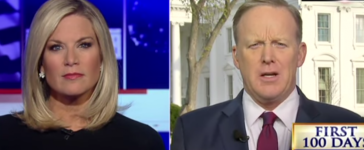 White House press secretary Sean Spicer on Fox News 3(Screen Grab/Youtube - The Viral Network)