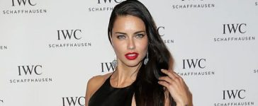 """Adriana Lima attends the IWC """"Come Fly with us"""" Gala Dinner during the launch of the Pilot's Watches Novelties from the Swiss luxury watch manufacturer IWC Schaffhausen at the Salon International de la Haute Horlogerie (SIHH) 2016 on January 19, 2016 in Geneva, Switzerland. (Photo by Chris Jackson/Getty Images for IWC)"""