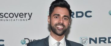 """NEW YORK, NY - NOVEMBER 09: Comedian Hasan Minhaj attends the Natural Resources Defense Council's """"NRDC's Night of Comedy"""" Benefit with Seth Meyers, John Oliver, George Lopez, Mike Birbiglia and Hasan Minhaj on November 9, 2016 in New York City. (Photo by Mike Coppola/Getty Images for The Natural Resources Defense Council)"""