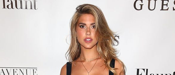 Kara Del Toro arrives at the Flaunt and Guess celebration of the Alternative Facts Issue hosted by Joe Jonas and DNCE at Avenue on April 11, 2017 in Los Angeles. (Photo by Joe Scarnici/Getty Images for Flaunt Magazine)