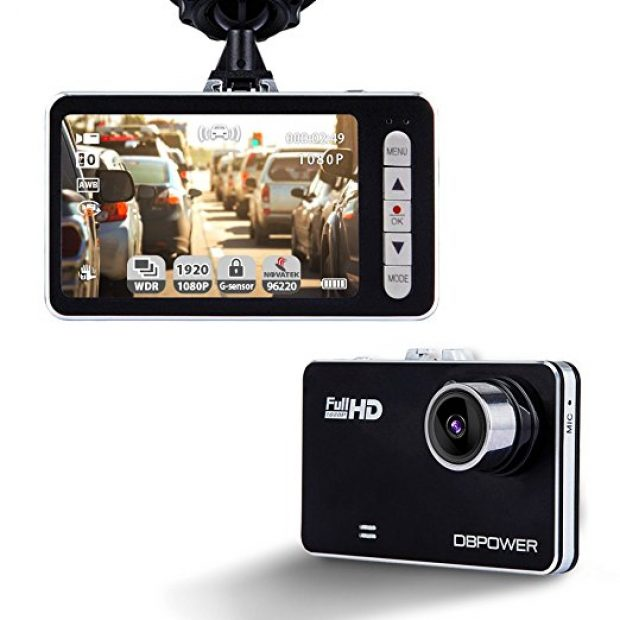 Normally $60, this dash cam is 33 percent off (Photo via Amazon)