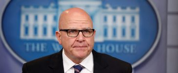 REFILE ADDING BYLINE White House national security advisor H.R. McMaster speaks to reporters in the White House briefing room in Washington, U.S., May 16, 2017. REUTERS/Joshua Roberts