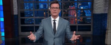 Stephen Colbert declares Victory over Trump Youtube