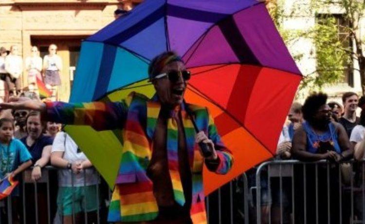 Thousands celebrate the annual LGBTQ Capital Pride parade in Washington, June 10, 2017. REUTERS/James Lawler Duggan