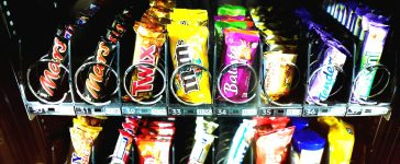 A vending machine for sweets (Photo: REUTERS/Kai Pfaffenbach)