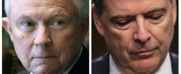Jeff Sessions, James Comey (Getty Images)
