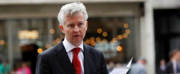 Alasdair Seton Marsden, lawyer spokesman for Connie Yates and Chris Gard, parents of Charlie Gard, speaks outside the High Court in London, Britain July 13, 2017. REUTERS/Peter Nicholls
