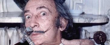 Salvador Dali in 1971 (WIkimedia Commons/Allan warren)
