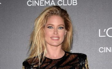 Doutzen attending the Gala 20th Birthday Of L'Oreal In Cannes during the 70th annual Cannes Film Festival at Martinez Hotel in May 2017 in Cannes, France. (Photo Credit/Getty Images)