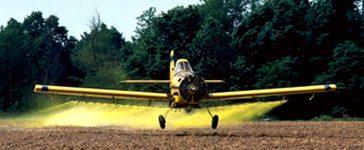 dusting planes. REUTERS/Tim McCabe/USDA Photo/Handout