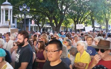 New Haven Rally (Photo: Davis Richardson/The Daily Caller)