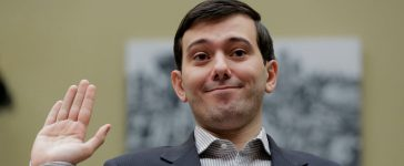"""Martin Shkreli, former CEO of Turing Pharmaceuticals LLC, is sworn in to testify at a House Oversight and Government Reform hearing on """"Developments in the Prescription Drug Market Oversight"""" on Capitol Hill in Washington February 4, 2016. Shkreli invoked his Fifth Amendment right against self-incrimination and declined to answer questions on Thursday from U.S. lawmakers interested in why the company raised the price of a lifesaving medicine by 5,000 percent. REUTERS/Joshua Roberts"""